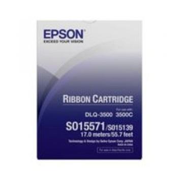 C13S015571 - DLQ-3000+/3500 Ribbon Cartridge (Black)