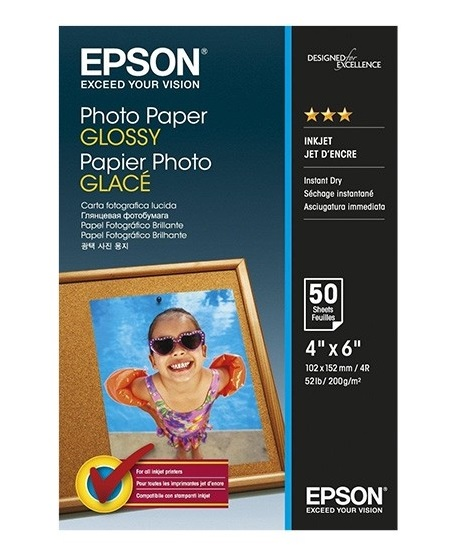 C13S042547 - Photo Paper GLOSSY (4R)(50 Sheets)