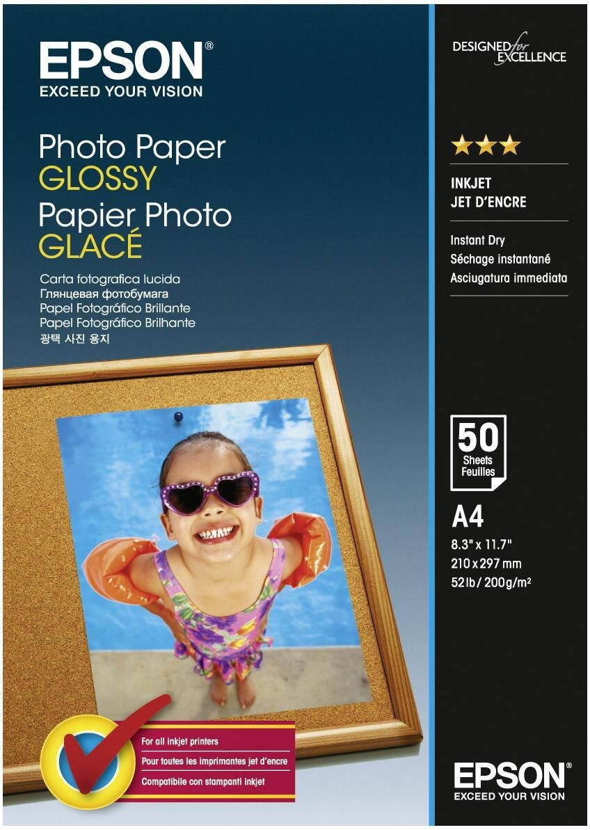 C13S042539 - Photo Paper GLOSSY (A4)(50 Sheets)