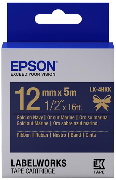 C53S654429 - LK-4HKK (Ribbon Gold on Navy Blue/12mm)