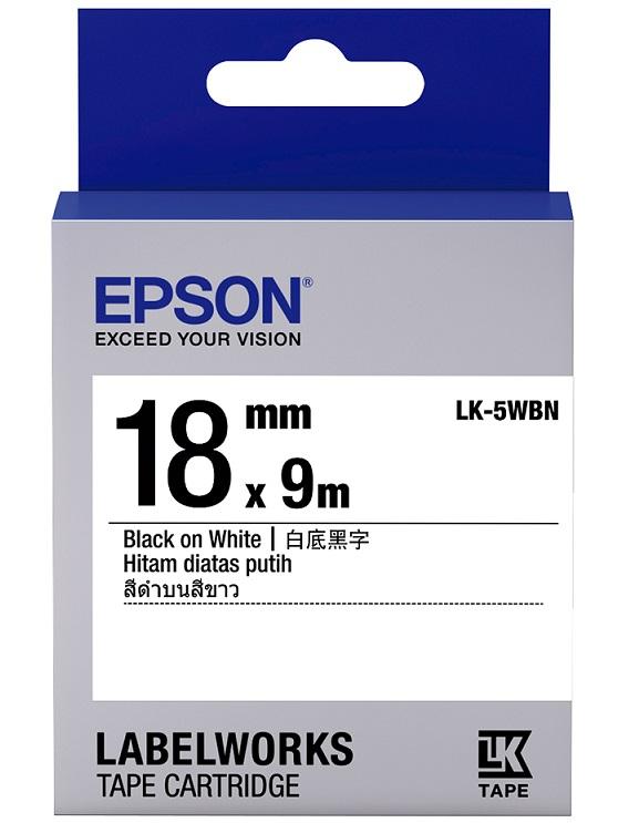 C53S655401 - LK-5WBN (Black on White/18mm)