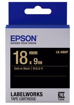C53S655407 - LK-5BKP (Gold on Black/18mm)