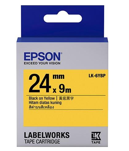 C53S656404 - LK-6YBP (Black on Yellow/24mm)