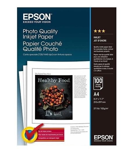 C13S041061 - Photo Quality Inkjet Paper (A4)