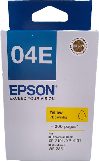 C13T04E483 - 黃色墨水