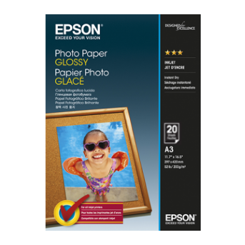 C13S041288 - Premium Glossy Photo Paper (A3)