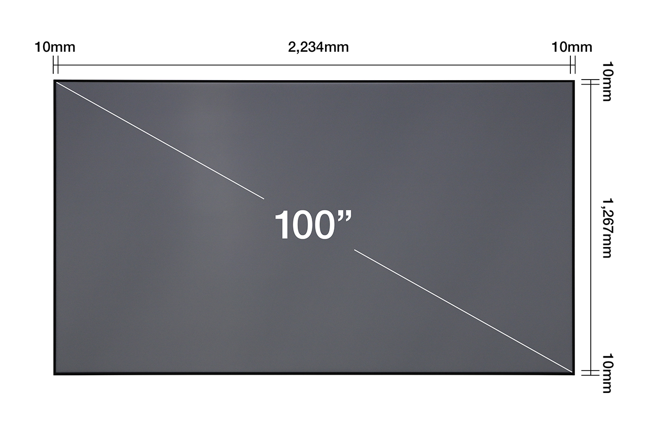 "EH-LS500 + ELPSC35 100"" projector screen Set"