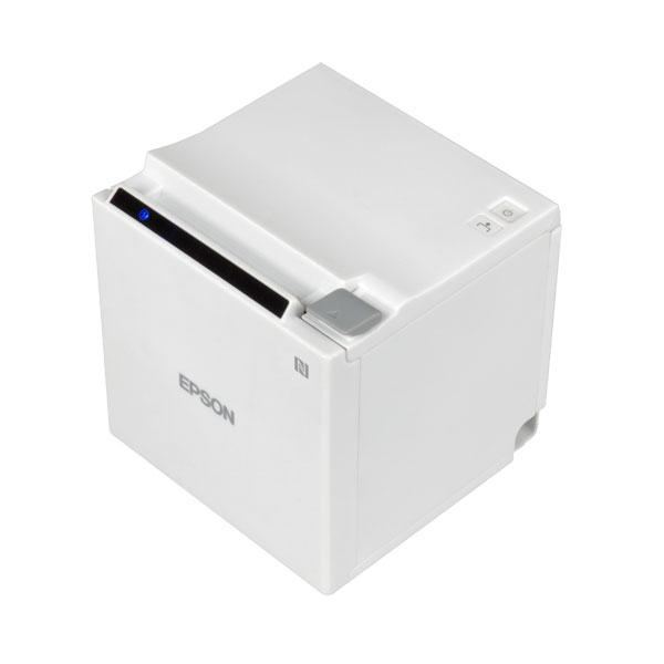 """TM-m30 (521) POS 3"""" Receipt Printer -- White"""